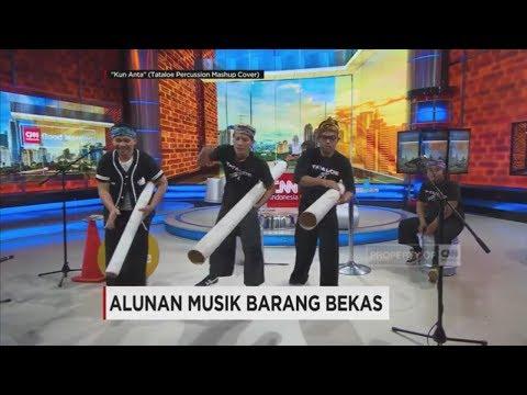Asli Keren & Kreatif! Bermusik dengan Barang Bekas - Tataloe dari Bandung