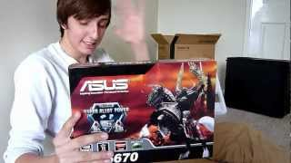 ASUS AMD Radeon HD 6670 - Graphics Card - Unboxing And First Look