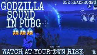 I Heard GODZILLA Roar in Erangel | Hear GODZILLA Sound in PUBG | GODZILLA LOCATION