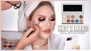 KKW BEAUTY x MARIO COLLECTION REVIEW | Face Match