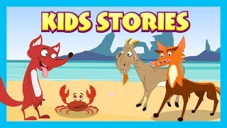 KIDS STORIES - The Fox and The Crab Full Stories    Animated Stories For Kids - Tia and Tofu Stories