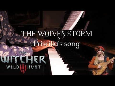The Witcher 3 - The Wolven Storm (Priscilla's Song) Piano Cover