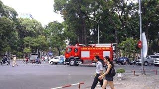 FirePoAm: Clip tổng hợp xe cảnh sát dùng còi ưu tiên - escorting, prisoner transport, police car