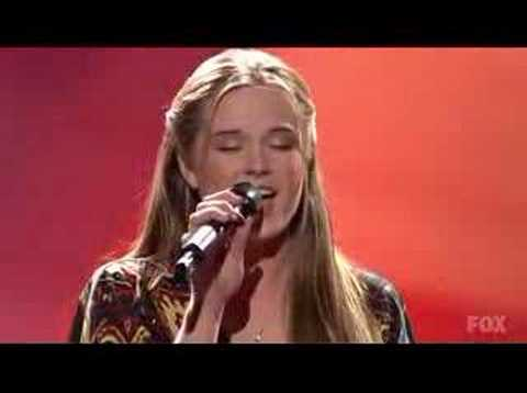American Idol 7 - Top 10 -  Kristy Lee Cook - Bless The USA