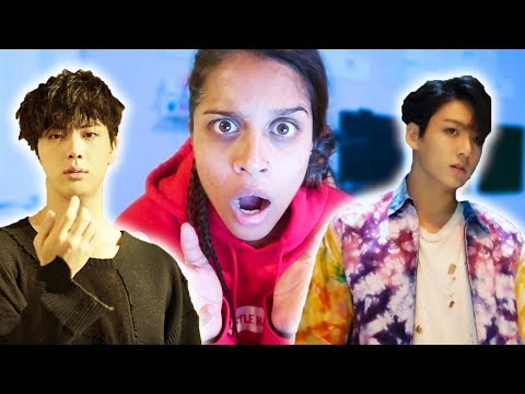 REACTING TO FAKE LOVE BY BTS
