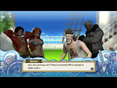 One Piece: Pirate Warriors 2 PS3 HD Gameplay Compilation
