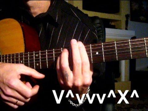 Бой на гитаре к Песне - Про молодого наркомана Песни под гитару