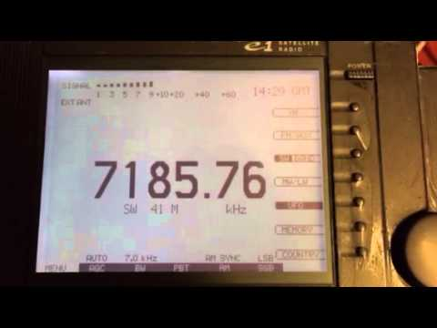 Myanmar Radio 7185 kHz