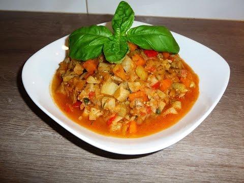 Овощное рагу  Вкусно и полезно!