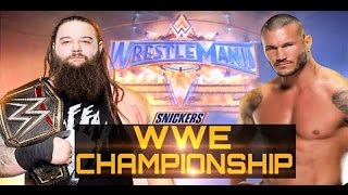 Randy Orton vs Bray Wyatt Full Match - WWE Wrestlemania 33 Full Show  WWE Championship Match