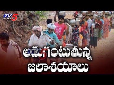 అడుగంటుతున్న జలాశయాలు.. | Water Crisis in Visakha | TV5 News