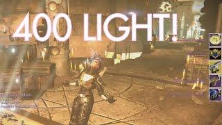 0 to 400 light | DESTINY POWERLEVEL | Age of Triumph