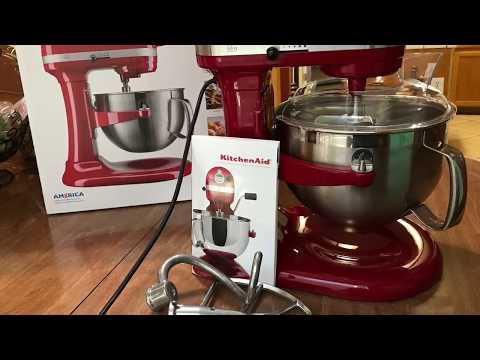 My new KitchenAid stand mixer Mi nueva batidora KitchenAid que me regalo mi Esposo🙊