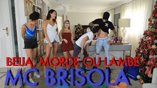 BEIJA, MORDE OU LAMBE COM MC BRISOLA | #HottelMazzafera