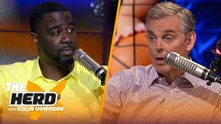 Chris Haynes on Lakers' title chances, Kyrie in Brooklyn and Luka Doncic's future | NBA | THE HERD