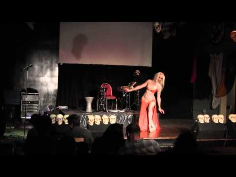 Belly Dancer, Mellilah Of Seattle, At Gypsy Cabaret 2012 video