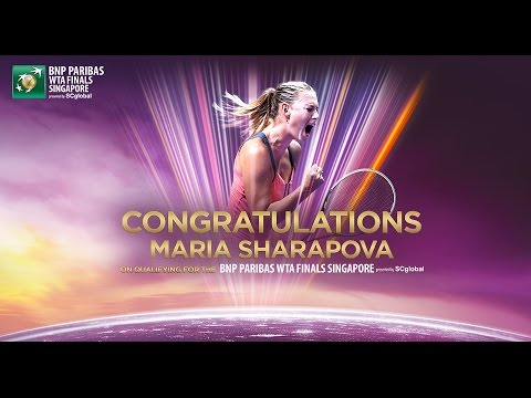 Maria Sharapova Qualifies For 2014 Wta Finals video