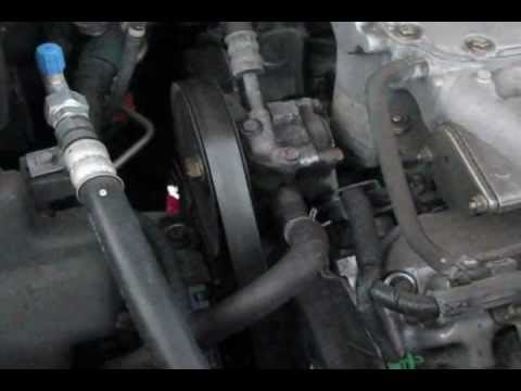 05 Honda pilot Timing belt Water pump replacement part 1