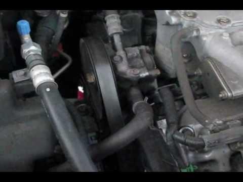 05 Honda pilot Timing belt Water pump replacement part 1