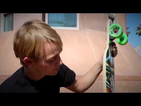 Deville Bobber Longboard Deck