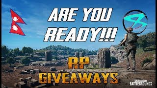 🔴PUBG MOBILE CUSTOM ROOM  !!! 5 RPs giveaway at 4.5K SUB!!!