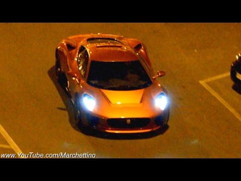 Jaguar C X75 vs Aston Martin DB10  Making of James Bond 007 Spectre Movie