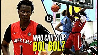 Can ANYONE Stop Bol Bol!? MVP of Nike EYBL is UNSTOPPABLE at the High School Level!