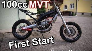 """100cc MVT zusammenbauen & """"First Start"""" // Goose Racing"""
