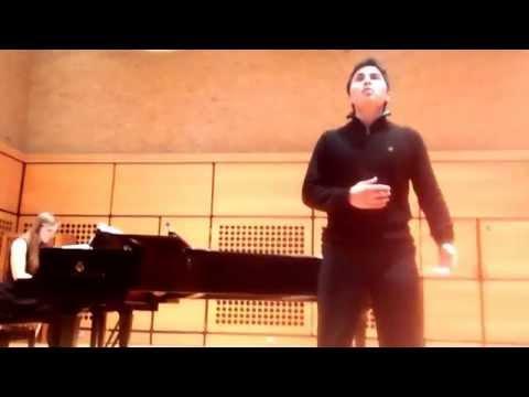 Una Furtiva Lagrima. Opera Nova Nottingham Uni.