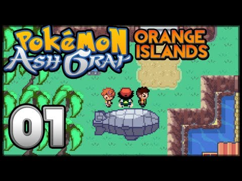 Pokémon Ash Gray - The Orange Islands - Episode 1 video