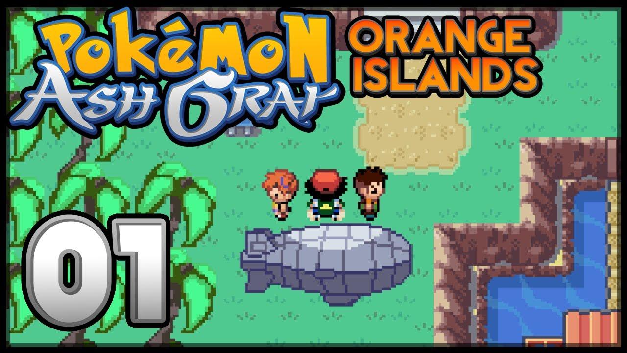 Pok 233 Mon Ash Gray The Orange Islands Episode 1 Youtube