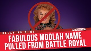 BREAKING NEWS: Fabulous Moolah's Name Removed From Women's Battle Royal