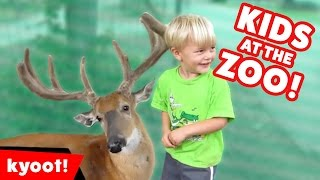 Funniest Kids at the Zoo Reactions, Bloopers & Moments Compilation of 2016 | Kyoot Animals