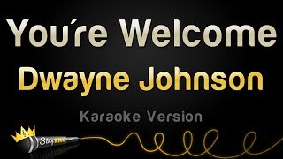 "download lagu Dwayne Johnson - You're Welcome From ""moana"" Karaoke Version gratis"