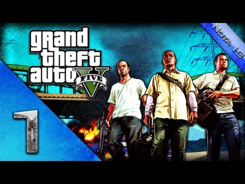 GTA 5 | Grand Theft Auto V - Detonado - Walkthrough - PT BR  Legendado Parte 1 HD