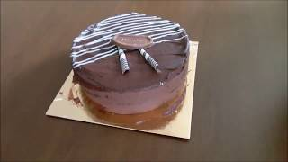 Triple Layer Chocolate Celebration Cake