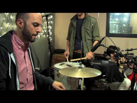White Rabbits - Percussion Gun (Live @ KEXP)