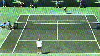 Monica Seles vs Judith Wiesner 1990 Lipton final