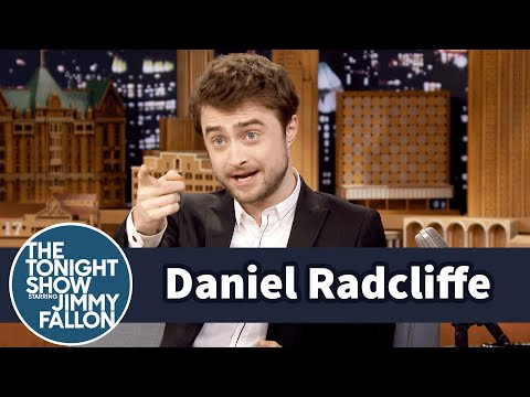 Daniel Radcliffe Wants to Be Michael Caine When He Grows Up