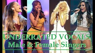 UNDERRATED VOCALS - Male & Female Singers