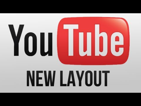 How to get the old Youtube Layout back / How to get the new Layout