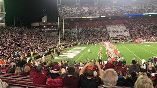 Clemson pre-game taunt at South Carolina Gamecocks 2017