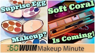 Surprise Egg Palettes! Estee Lauder Soft Coral is Coming Soon! | Makeup Minute