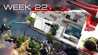 Building Kashyyyk in LEGO - Week 22: Overview So Far