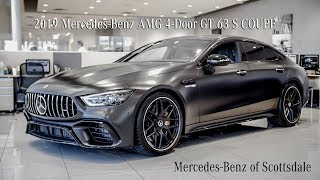 The 2019 Mercedes‑Benz AMG GT 4‑Door GT 63S Coupe review from Mercedes Benz of Scottsdale