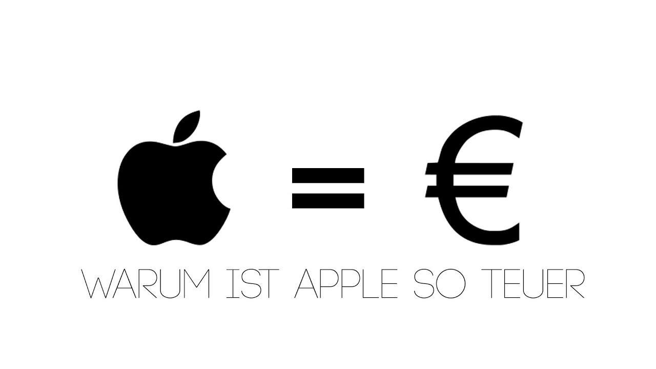 warum sind apple produkte so teuer youtube. Black Bedroom Furniture Sets. Home Design Ideas