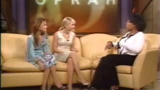 Mary-Kate and Ashley Olsen - Oprah clip 2