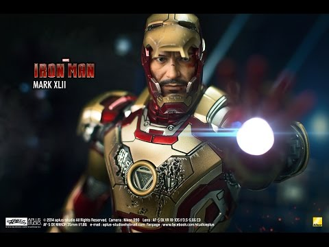 REVIEW : Hottoys Ironman mk42 [Die-cast MMS197 D02]