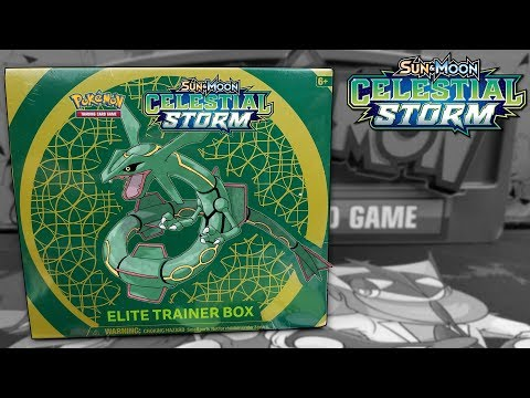 Pokemon Celestial Storm Elite Trainer Box Opening!