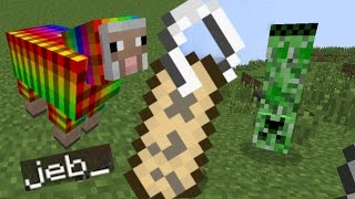 ✔️ MCPE NAMETAG TRICK 0.15.0 BETA/UPDATE SECRETS - Rainbow Sheep, Upside Down Mobs and MORE!